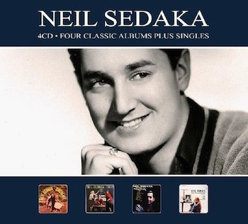 Sedaka ,Neil - Four Classic Albums Plus ( 4 cd's )